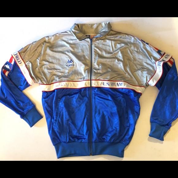 d763cef946 Kappa Sport USA Olympics Track and Field Jacket